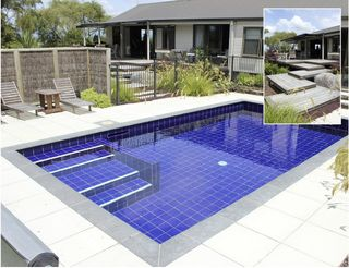 Blue Tiled Pool